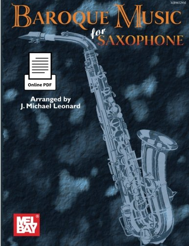 9780786692392: Baroque Music for Saxophone