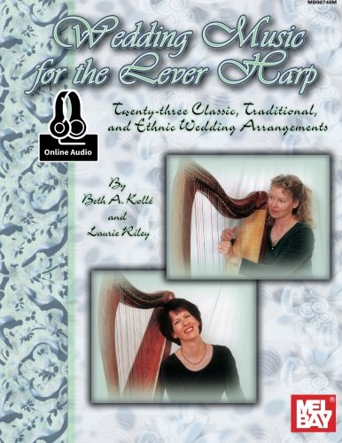 9780786692668: Wedding Music for the Lever Harp: Twenty-Three Classic, Traditional, and Ethnic Wedding Arrangements