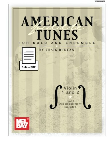 9780786693801: American Fiddle Tunes for Solo and Ensemble: Violin 1 and 2 with piano accompaniment included