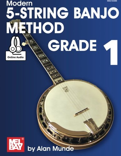 9780786693832: Modern 5-String Banjo Method -Grade 1