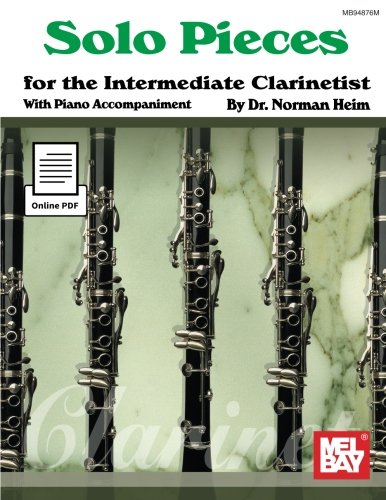 9780786693856: Solo Pieces for the Intermediate Clarinetist