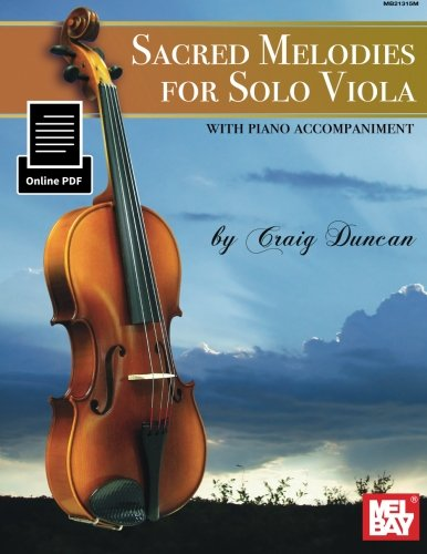 9780786694242: Sacred Melodies for Solo Viola
