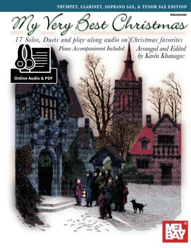 9780786694341: My Very Best Christmas:: Trumpet, Clarinet, Soprano Sax, & Tenor Sax Edition