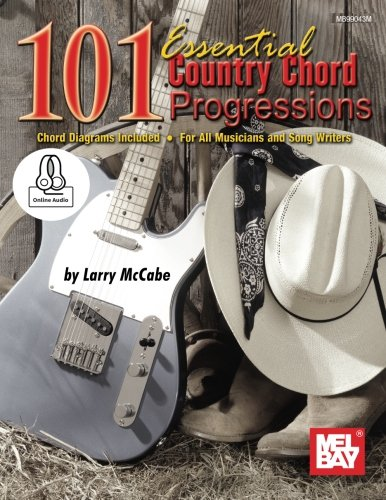 9780786697533: 101 Essential Country Chord Progressions: For Guitar