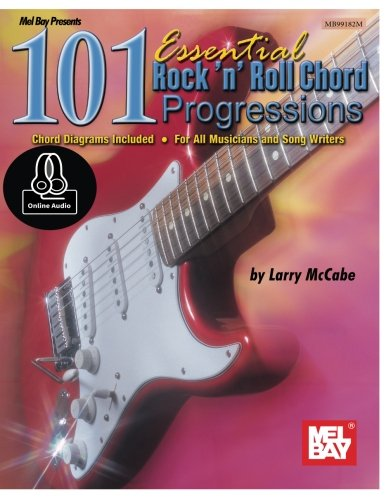 9780786697595: 101 Essential Rock 'N' Roll Chord Progressions: For Guitar