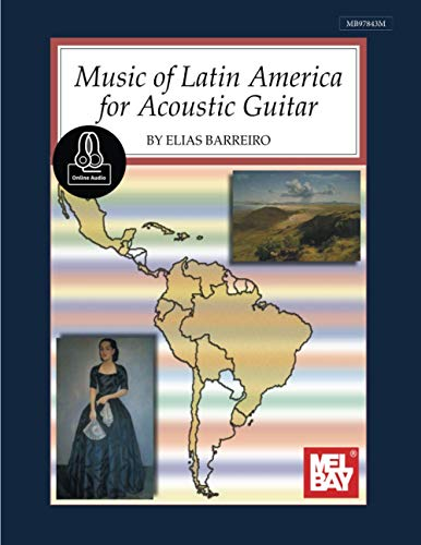 9780786697779: Music of Latin America for Acoustic Guitar