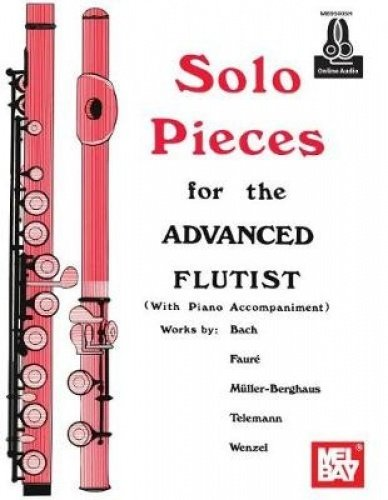 9780786699216: Solo Pieces for the Advanced Flutist