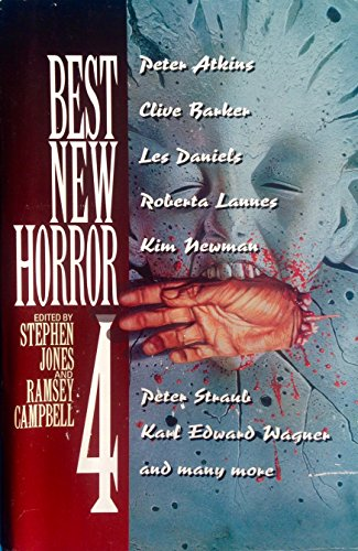 Best New Horror 4 (Mammoth Book of: Stephen Jones; Kim