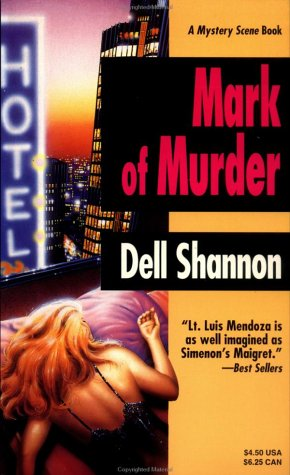 9780786700431: Mark of Murder: A Mystery Scene Book
