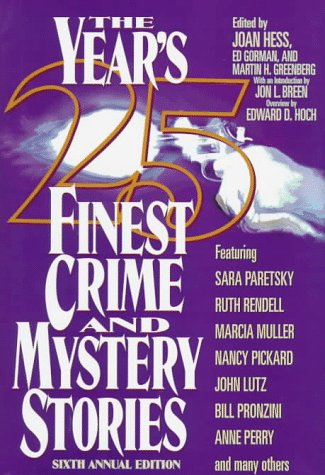 The Year's 25 Finest Crime & Mystery: Hess, Joan
