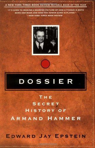 9780786706778: Dossier: The Secret History of Armand Hammer