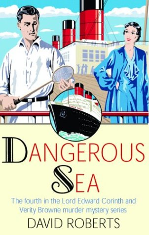 9780786712151: Dangerous Seas (Lord Edward Corinth and Verity Browne Murder Mystery Series)