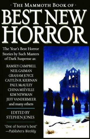 The Mammoth Book of Best New Horror,: Jones, Stephen (ed.);