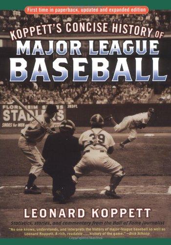 9780786712861: Koppett's Concise History of Major League Baseball