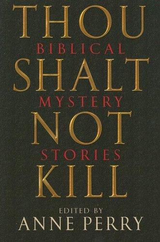 9780786715756: Thou Shalt Not Kill: Biblical Mystery Stories
