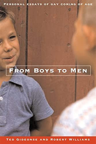 9780786716326: From Boys to Men: Gay Men Write About Growing Up