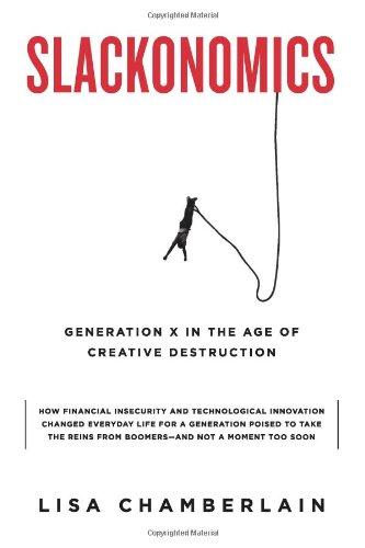 9780786718849: Slackonomics: Generation X in the Age of Creative Destruction