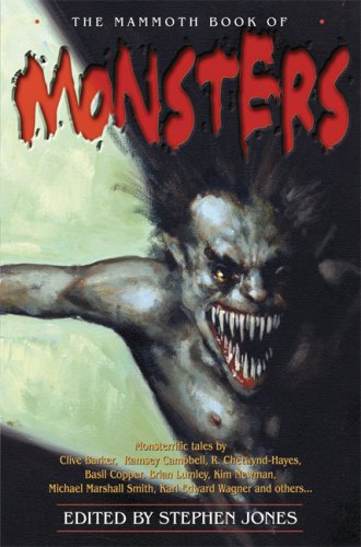 9780786719761: The Mammoth Book of Monsters