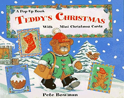 9780786803453: Teddy's Christmas: A Pop-Up Book With Mini Christmas Cards