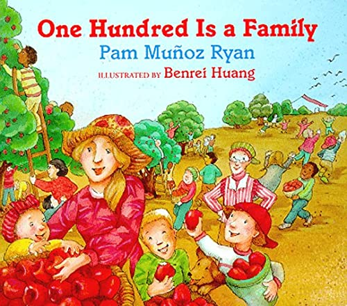 9780786804054: One Hundred is a Family Board Book