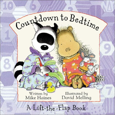 9780786807413: Countdown to Bedtime (A Lift-the-Flap Book)