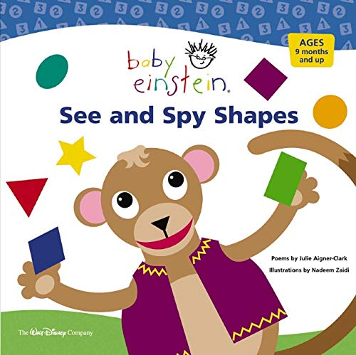9780786808090: Baby Einstein See and Spy Shapes