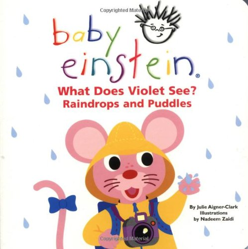 9780786808717: What Does Violet See? Raindrops and Puddles (Baby Einstein)