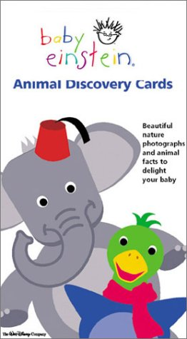 9780786818730: Animal Discovery Cards (Baby Einstein)