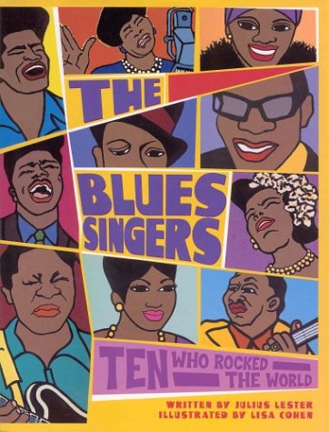 9780786824052: The Blues Singers: Ten Who Rocked the World