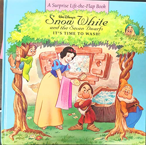 Snow White and the Seven Dwarfs: Its Time to Wash! (Surprise Lift-the-Flap Books) (0786830301) by Mones, Isidre