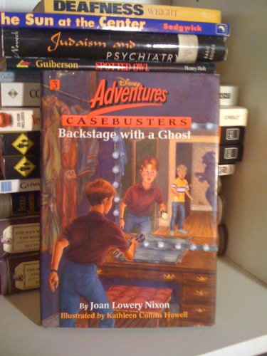 9780786830480: Backstage With a Ghost (Disney Adventures Casebusters)