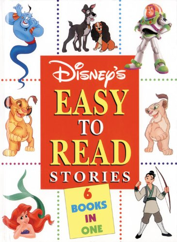 9780786832446: Disney's Easy to Read Stories: A Collection of 6 Favorite Tales