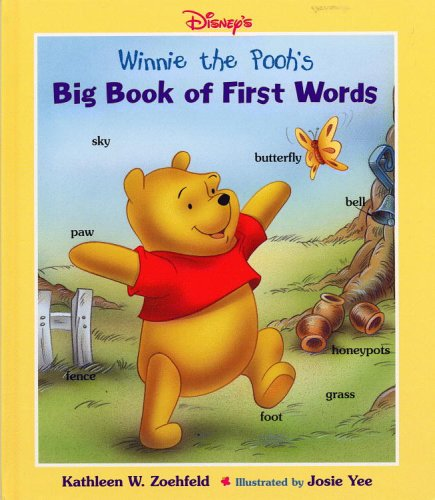 9780786833283: Disney's: Winnie the Pooh's - Big Book of First Words