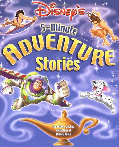 9780786833610: Disney's 5-Minute Adventure Stories