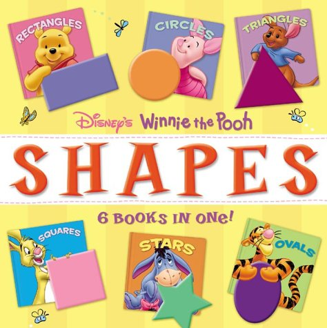 Winnie the Pooh Shapes - 6 Books in One (0786833718) by Mary Hogan