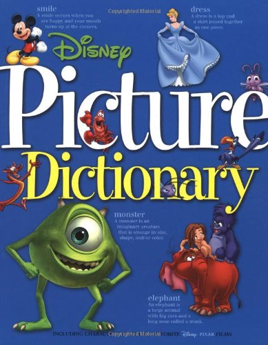 9780786833856: Disney Picture Dictionary (Disney Learning)