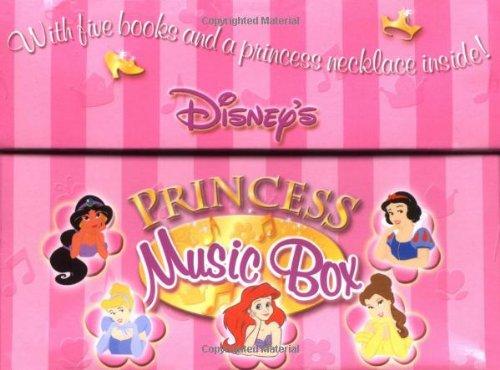 9780786833887: Disney's Princess Music Box: With Five Books and a Necklace Inside! (Disney's Princess Backlist)