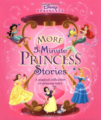 9780786834709: Disney Princess: More 5-Minute Princess Stories (5-Minute Stories)