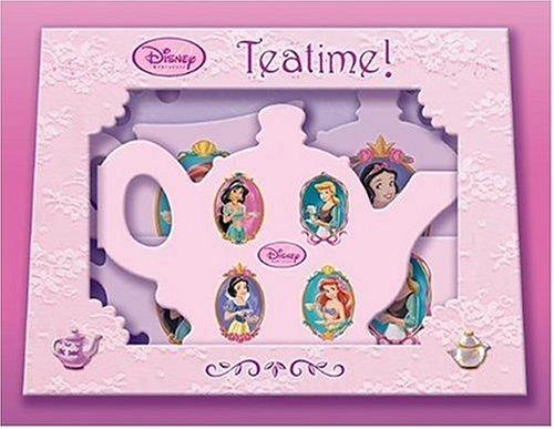 9780786834969: Disney Princess: Tea Time! Boxed Set