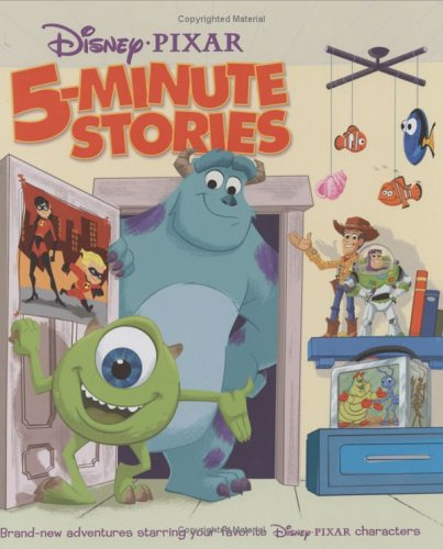 9780786835195: Disney Pixar 5-Minute Stories