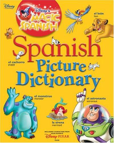 DISNEY MAGIC SPANISH PICTURE DICTIONARY