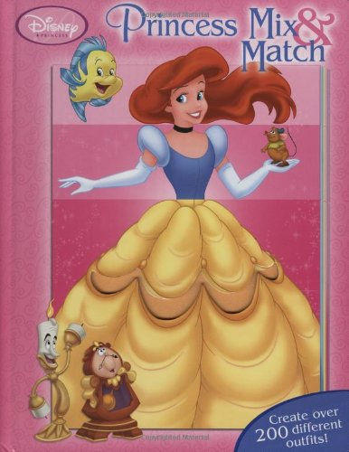 Princess Mix & Match (0786836237) by Disney Book Group; Carol Monica