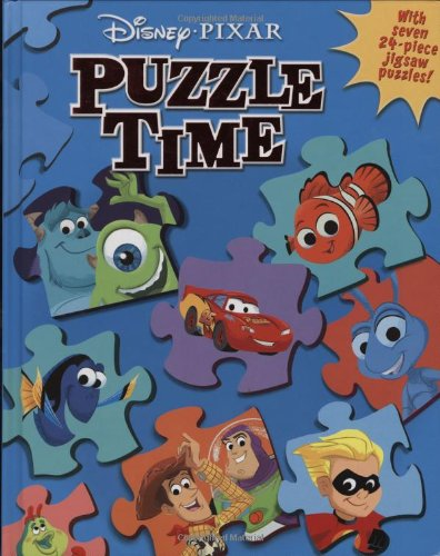 9780786838097: Disney/Pixar: Puzzle Time (A Jigsaw Puzzle Book)