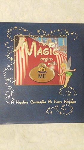 Magic Begins with Me: A Happiest Celebration on Earth Keepsake: Jeff Kurtti