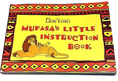 9780786840151: Mufasa's Little Instruction Book