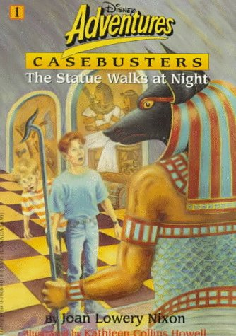 The Statue That Walks at Night (Disney Adventures Casebusters) (0786840188) by Joan Lowery Nixon