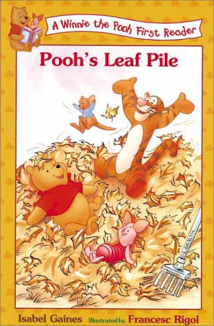 9780786843169: Pooh's Leaf Pile (A Winnie the Pooh First Reader)