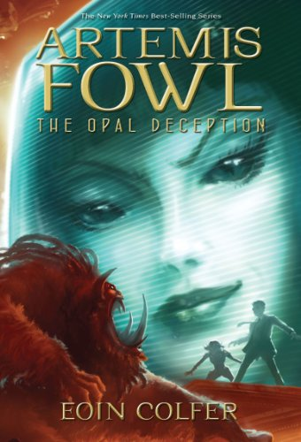 Artemis Fowl. The Opal Deception. { SIGNED.}. { FIRST EDITION/ FIRST PRINTING.}. { with SIGNING P...
