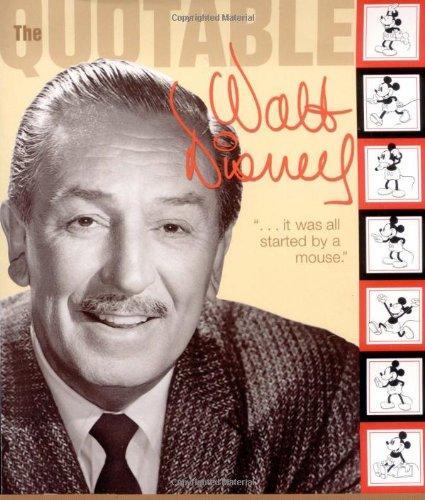 9780786853328: Quotable Walt Disney (Cinéma)