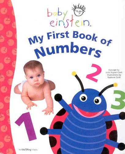 9780786854820: Baby Einstein: My First Book of Numbers